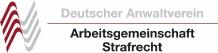 Logo Arbeitsgemeinschaft Strafrecht Deutscher Anwaltverein e.V.